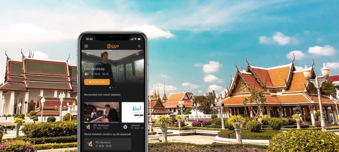 Nederlandse tv kijken in het buitenland met een vpn verbinding