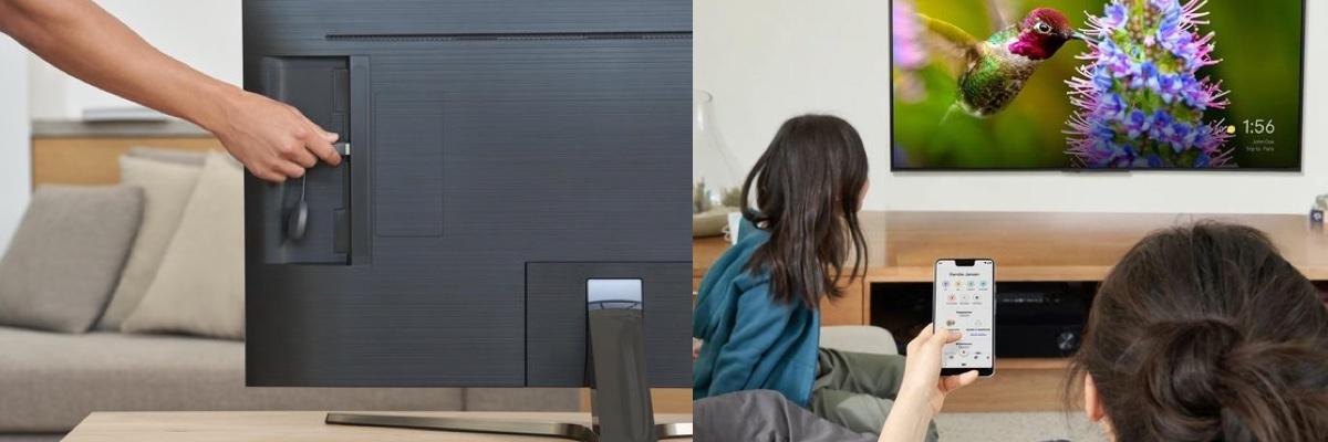 Streamen naar een tv scherm met de Google Chromecast