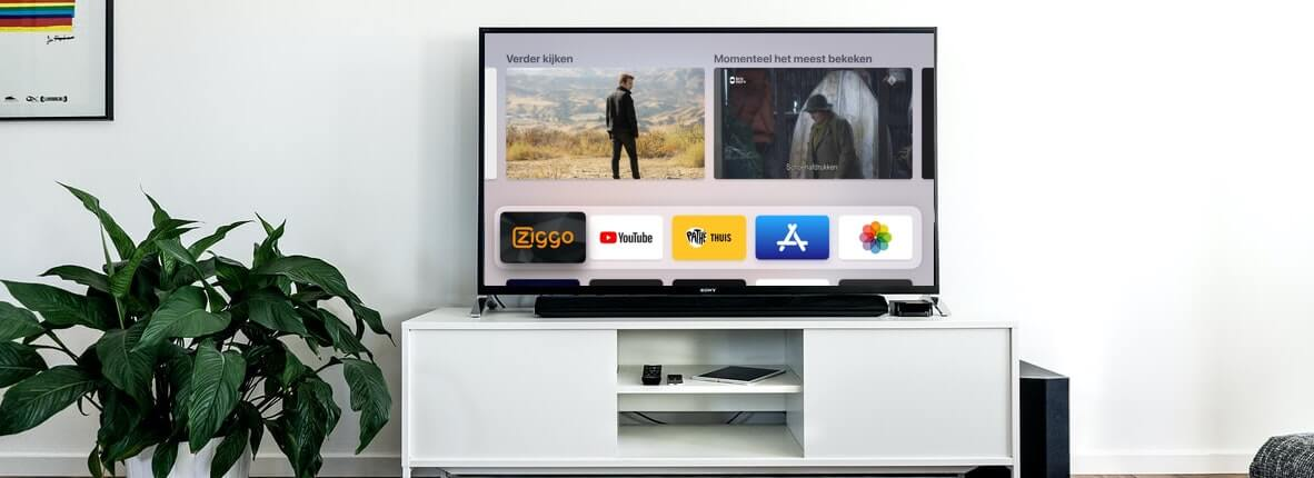 Ziggo Go App op Apple Tv