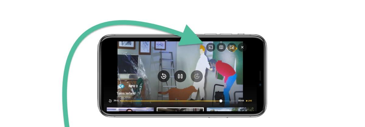 KPN itv streamen met Chromecast